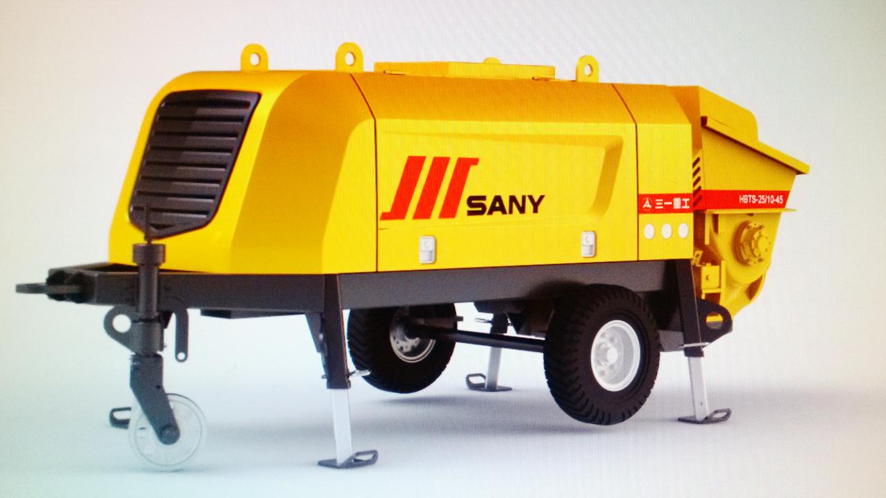三一重工拖泵工業設計