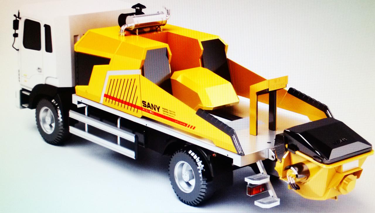 三一重工車載泵工業設計
