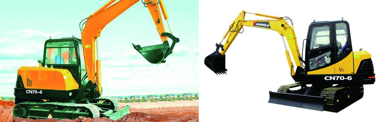 湖南長沙九十八號工業設計有限公司(N98Design),挖機工業設計,中國兵器工業集團江麓機械